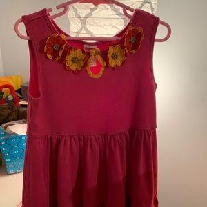 Cotton Gymboree dress with flower detail 🌸🌸